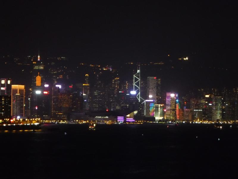 Hong Kong from Ship