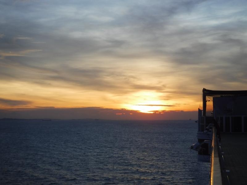 Sail Away at Sunset