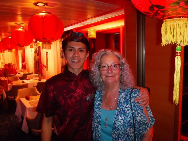 Patty with Lido Market waiter