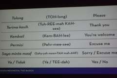 Indonesian Basics