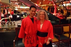Kimono Gala Night with Aris