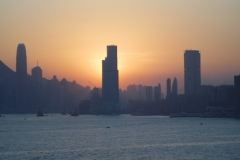 Sunset at Hong Kong
